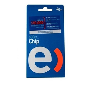Chip Entel $1.000 Carga Inicial + 100mb - Prophone