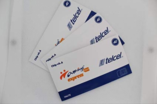chip express telcel mayoreo envio gratis 100 piezas