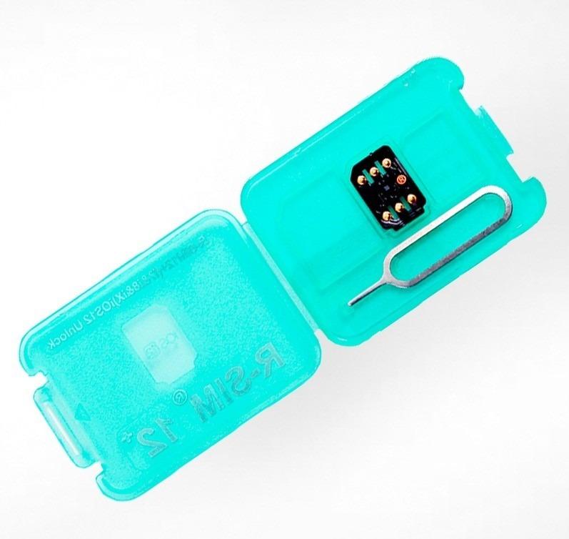 8abfb8e752b Chip Gevey R-sim 12+ Desbloqueio Ios 12 iPhone 5s - Xs Max - R$ 79 ...