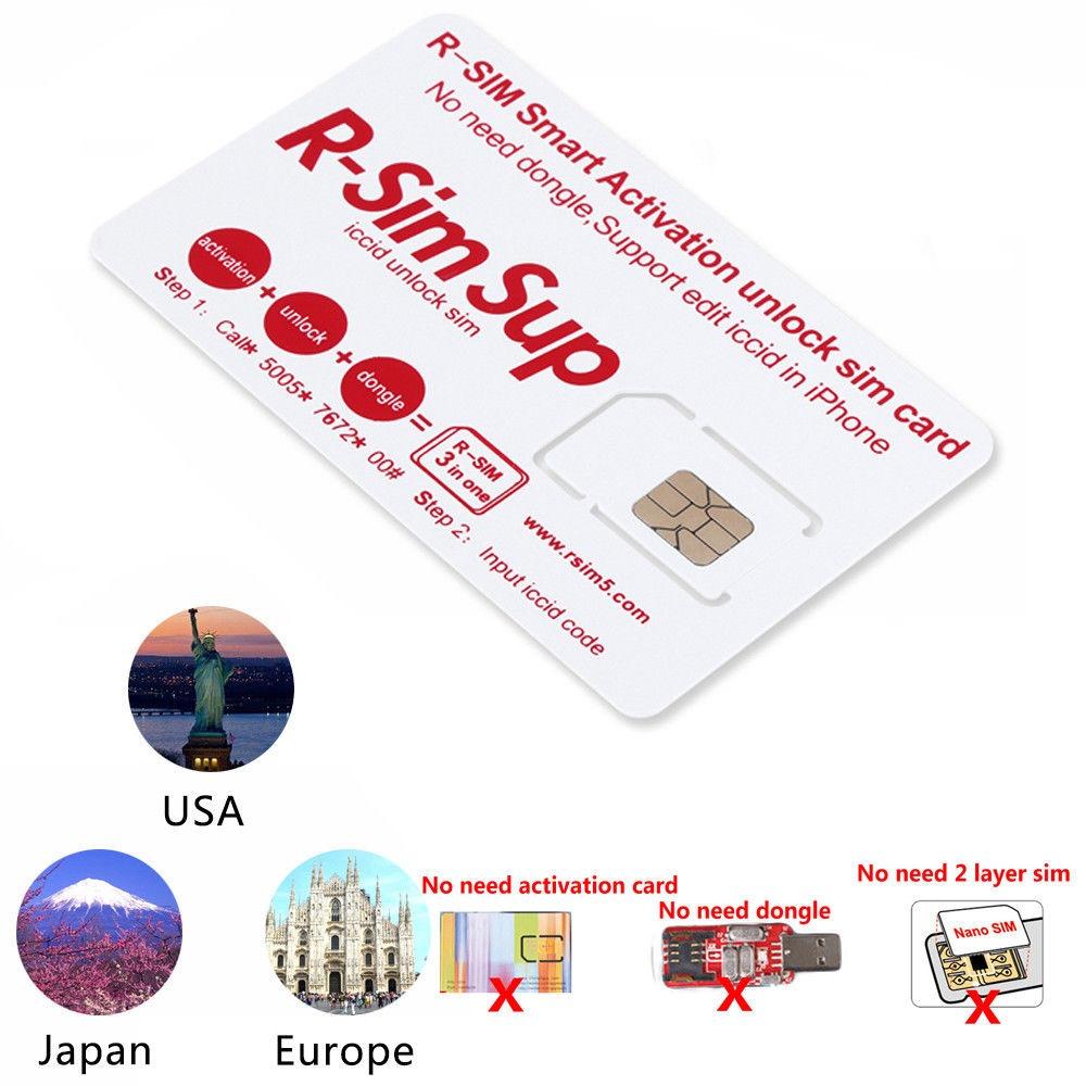 72df0f0d76b Chip Gevey R-sim Sup Desbloqueio - iPhone 5s 6 6s 7 7+ 8 X - R$ 89,90 em  Mercado Livre