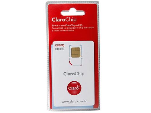 chip gsm claro para