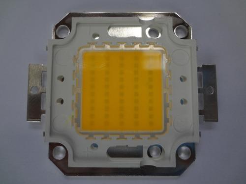 chip led 50w branco quente 30-36v reparo para refletor led