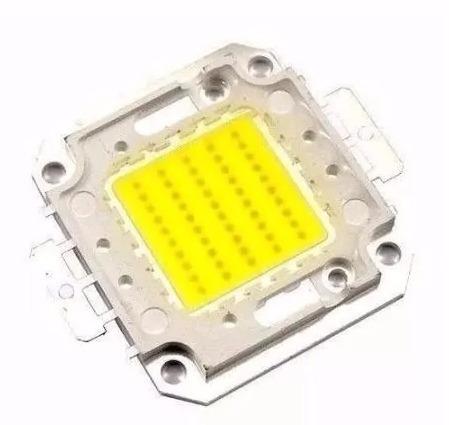 chip led 50w para reposição de refletor 50w