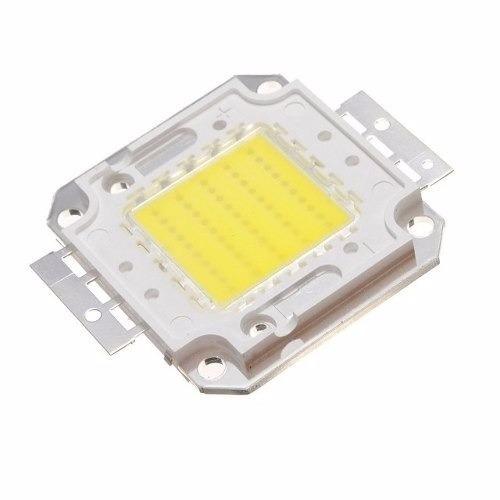 chip led 50w para reposição de refletor 50w branco frio