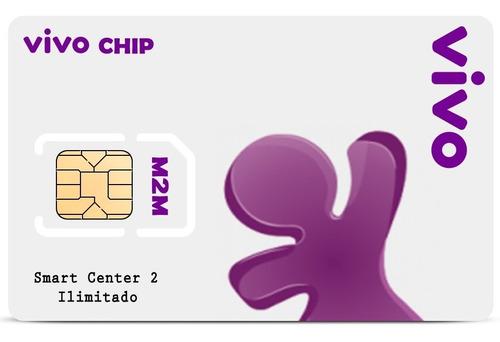 chip m2m: 50 mb vivo + plataforma + aplicativo