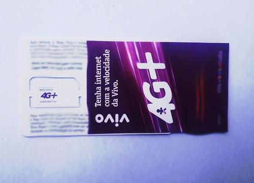chip / microchip / nanochip vivo 4g pré-pago ddd11 a 99