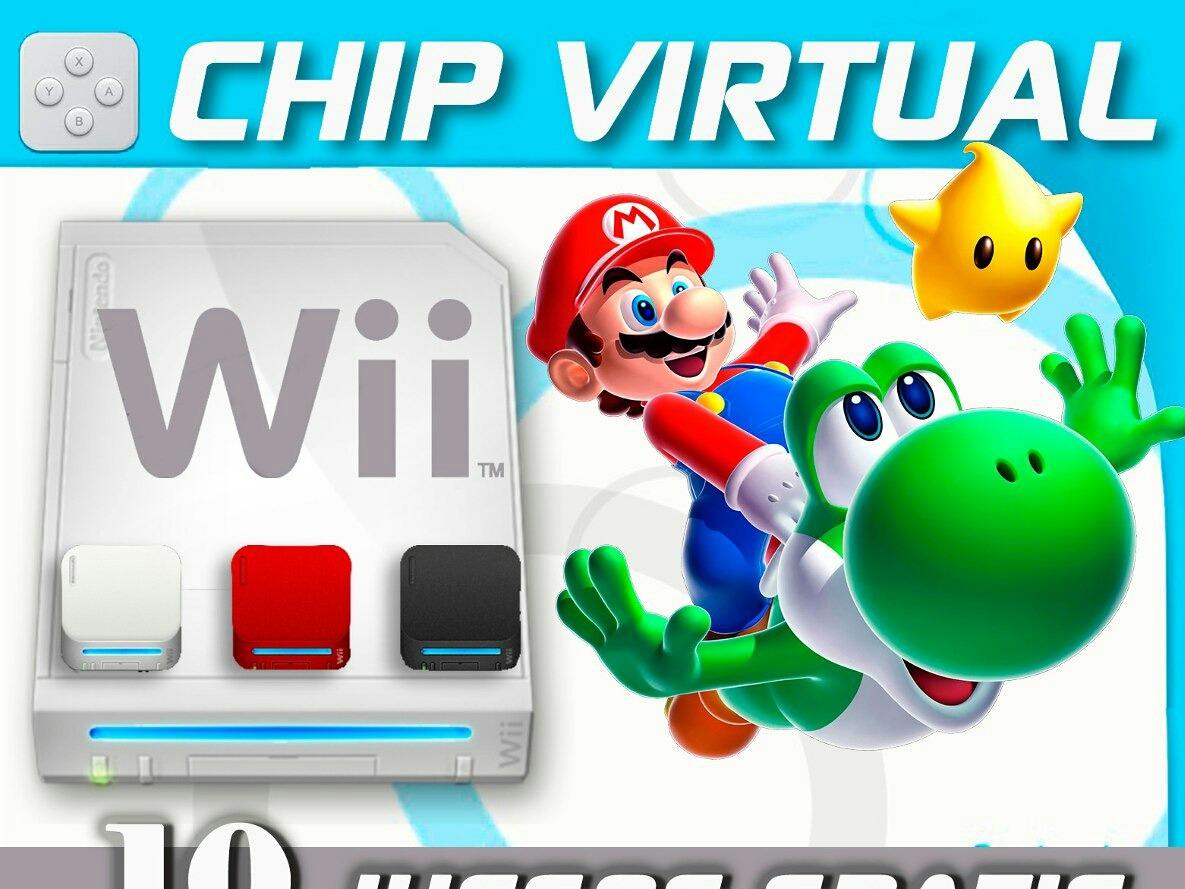 Chip Virtual Para Nintendo Wii 2019 El Mas Completo 5 Juegos Bs