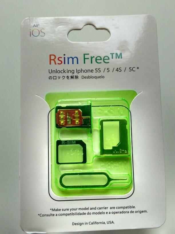 6d25c93de27 chip p/ desbloqueio iphone 5s/5/5c/4s rsim free softbank. Carregando zoom.