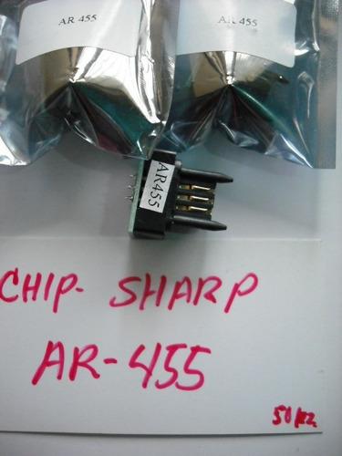 chip para cartucho sharp ar-355/455 / ar m351n/m451n  $75.00