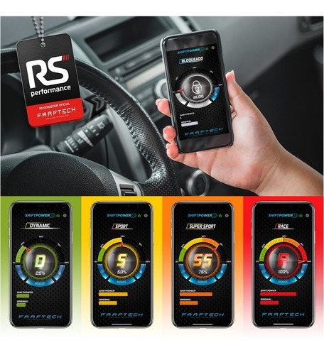 chip pedal acelerador shiftpower 4.0 jeep compass + app