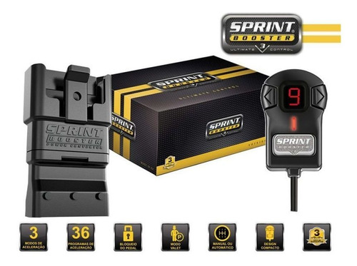 chip pedal sprint booster v3 chevrolet cruze 1.8l todos
