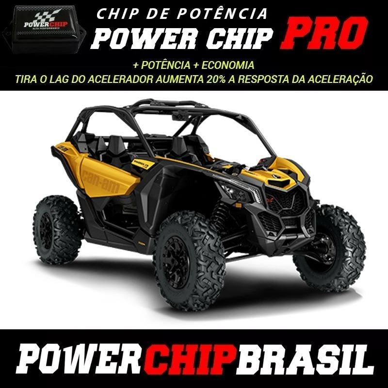 Chip Potencia Utv Maverick Can-am Off Road X3 120 Hp +14hp