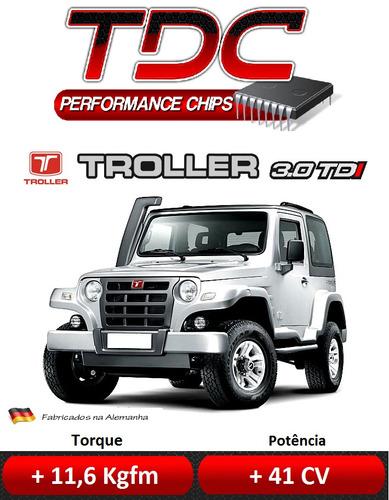 chip potência diesel hilux frontier triton s10 troller