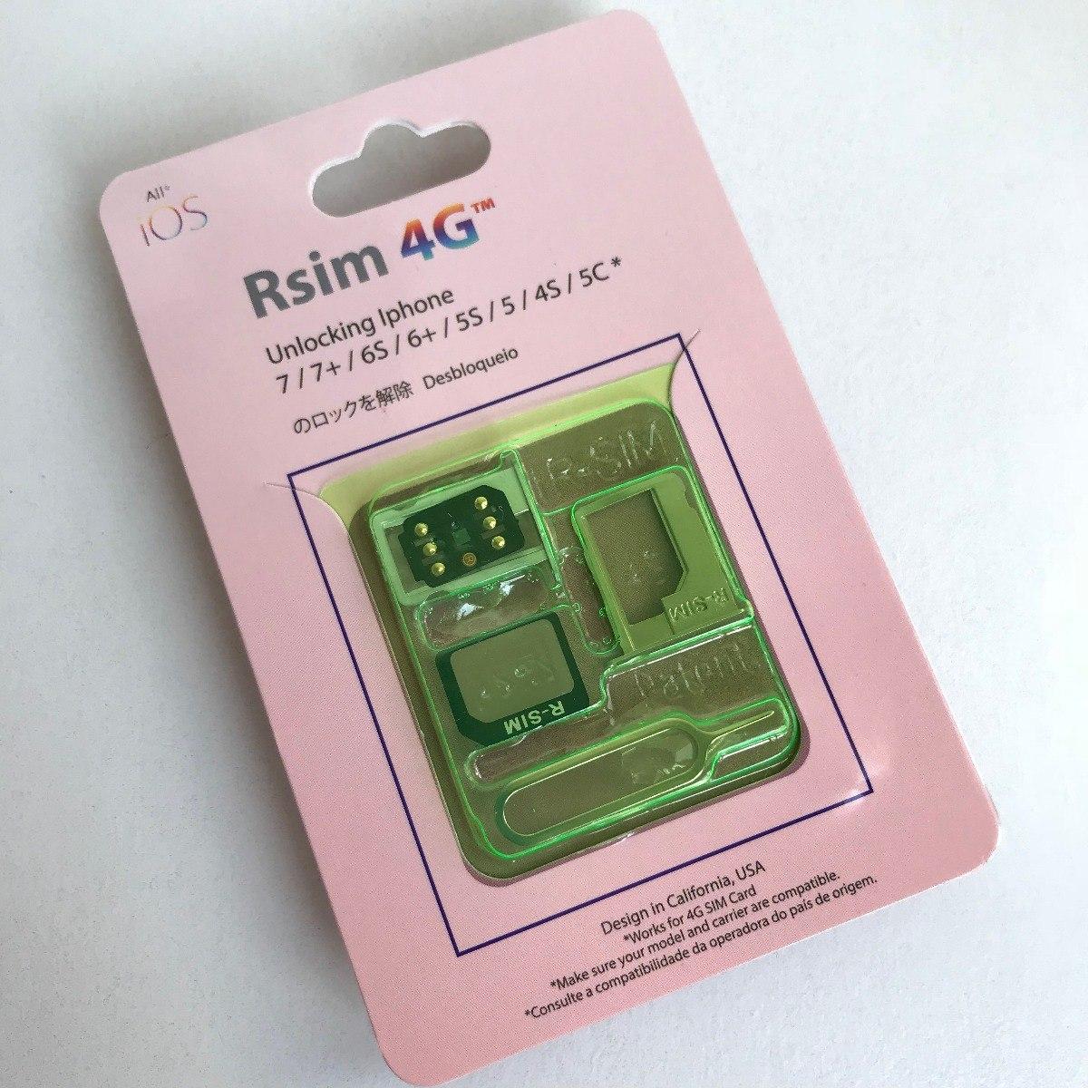 5532211b761 Chip R-sim 4g P/ Desbloqueio iPhone 6/7/8/6s/5s/x/xs/xr - R$ 129,00 ...