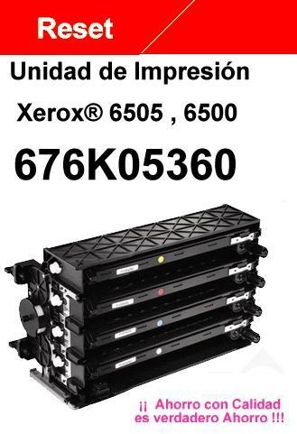 chip reset unidad imagen xerox® 6505 6500 6125 6130 6140