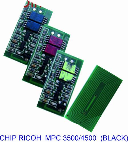 chip ricoh 3500/3500/4500/5200/ color negro
