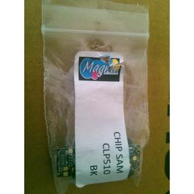 Chip Samsung Clp 510 Negro Con Base 5k