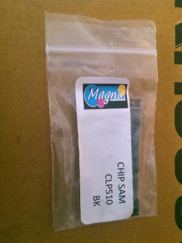 chip samsung clp 510 negro sin base 5k