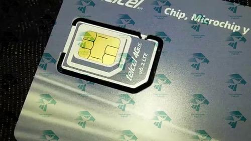 chip telcel original configurado para localizador gps 103etc