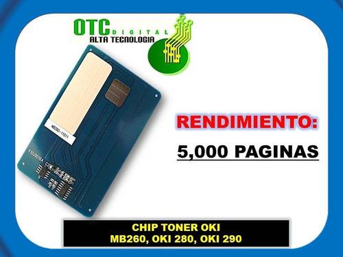 chip toner  mb260 mb280 mb290