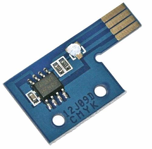 chip toner phaser 6125 / 6128 yellow