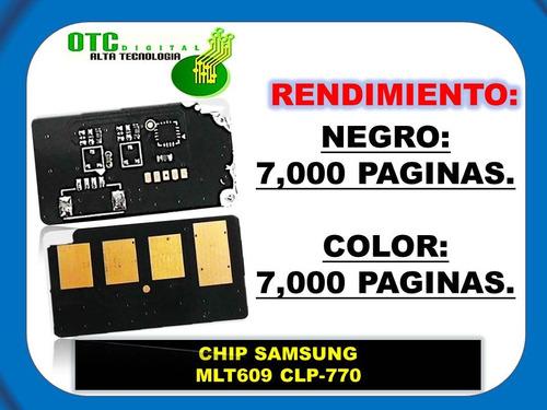 chip toner samsung mlt609 clp-770