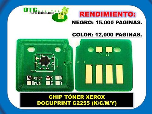 chip toner xerox docuprint c2255