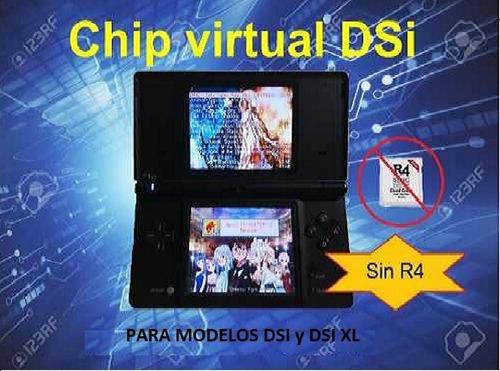 chip virtual para consolas dsi y dsi xl sin r4