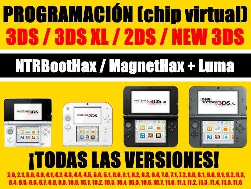 Chip Virtual Para Nintendo 3ds Todos Los Juegos Gratis 250 En