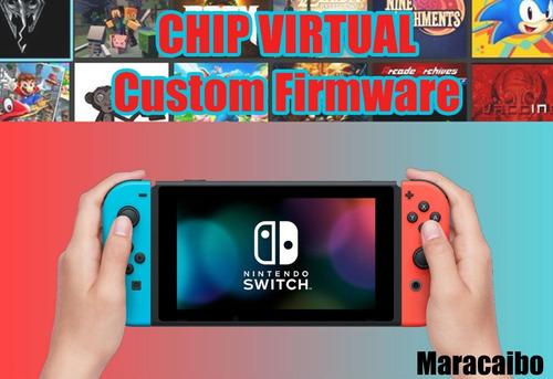 chip virtual para nintendo switch - libera tu consola