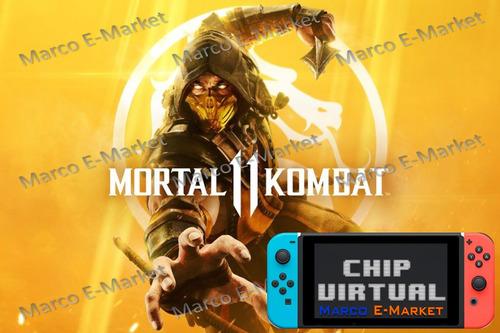 chip virtual para nintendo switch + mortal kombat 11