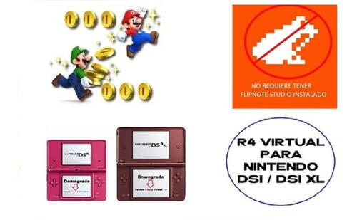 chip virtual y desbloqueo r4 para dsi y dsixl