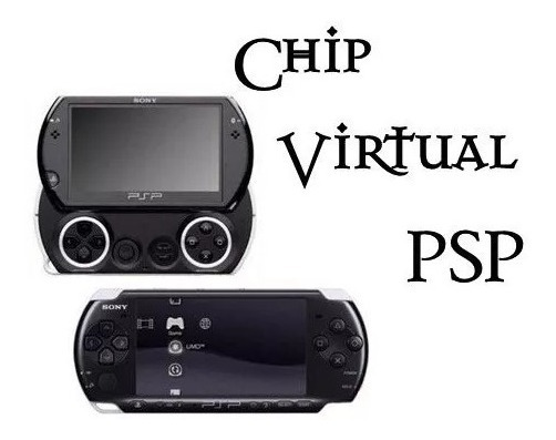 Chip Virtual Y Juegos Digitales De Psp / Psp Go 2019