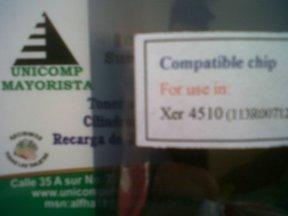 chip xerox 4510