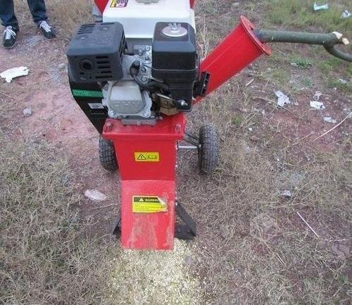 chipeadora de ramas y troncos 6,5 hp