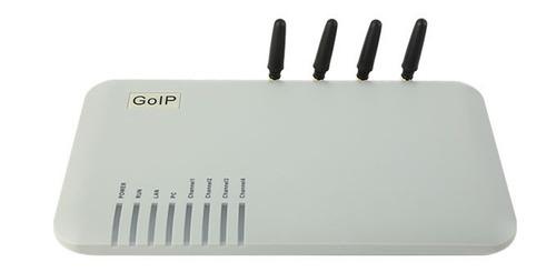 chipeira goip 4 gsm p/pabx ip 3cx asterisk elastix etc.