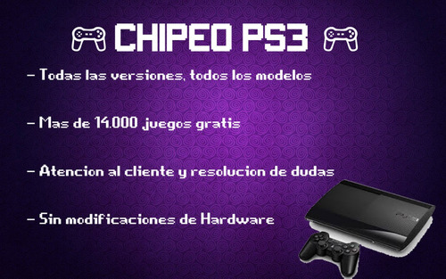 chipeo de ps3 (hen) para todas las versiones