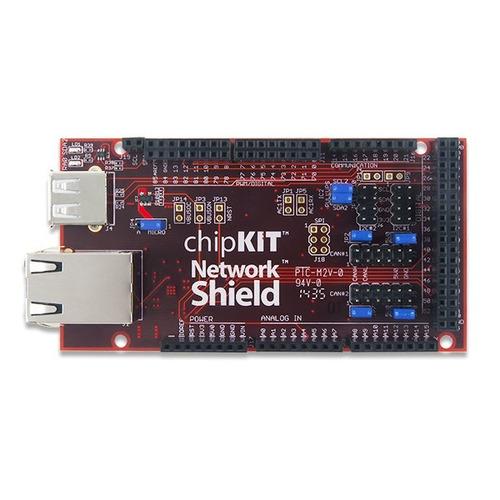chipkit network shield - arduino compatible