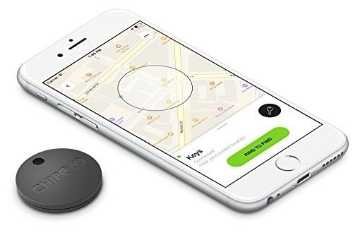 chipolo plus smart keyring bluetooth tracker, buscador de t
