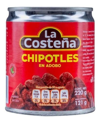 chipotke en adobo chipotles 220gr la cost - g a $55