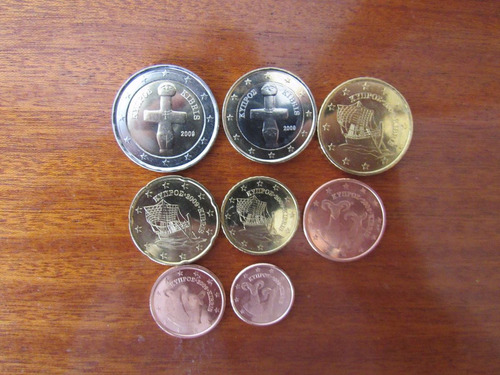 chipre serie euro completa 2009 sin circular