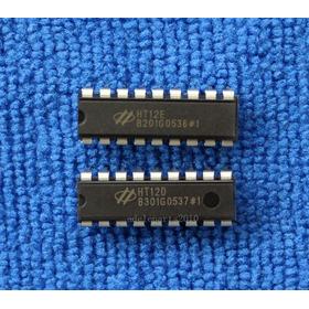 Chips Codificación Decodificación Ht12e Ht12d Rf