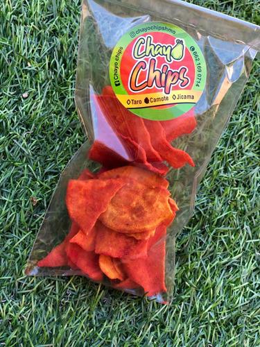chips deshidratadas 4pz sin aceites