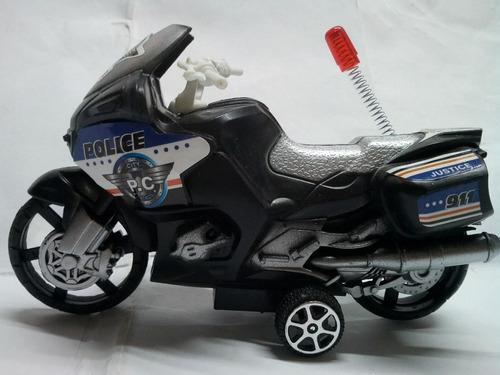 chips patrulla motorizada moto policia  maxima calidad carro