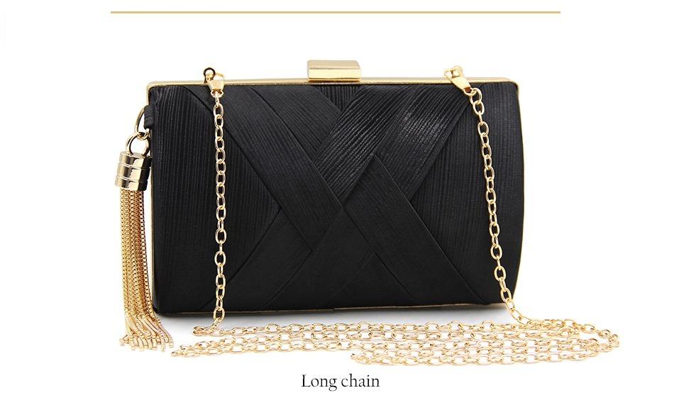 ff39e3fe83 chiquerrima bolsa carteira festa noite clutch preta  dourado. Carregando  zoom.