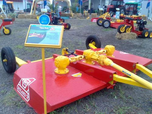 chirquera roland h293 de arrastre para tractor, rotativa
