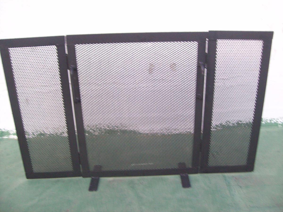 Chispero ventana para estufa en hierro y chapa perforada - Chapas de hierro ...