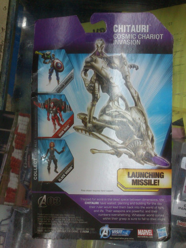 chitauri cosmic chariot invasion - marvel the avengers -