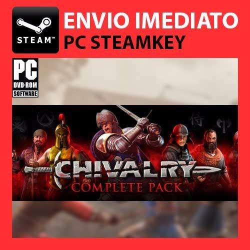 chivalry medieval warfare + dlc - steam key pc original