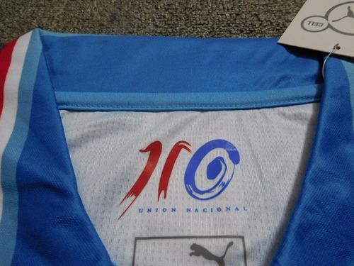 chivas 110th anniversary blue camiseta de fútbol shirt
